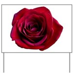 Red Rose Yard Sign