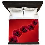 Red Rose King Duvet