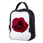 Red Rose Neoprene Lunch Bag