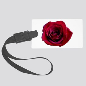 Red Rose Large Luggage Tag