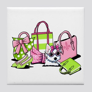 KiniArt Girlie Things Olivia Tile Coaster