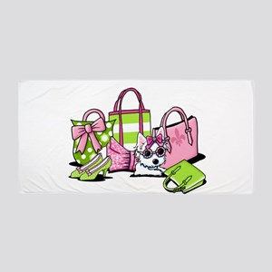 KiniArt Girlie Things Olivia Beach Towel