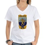 USS BARBEY Women's V-Neck T-Shirt