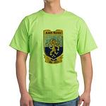 USS BARBEY Green T-Shirt