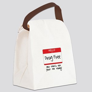 Not Just For Today Canvas Lunch Bag