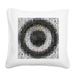 Mosaic-Woofer Square Canvas Pillow