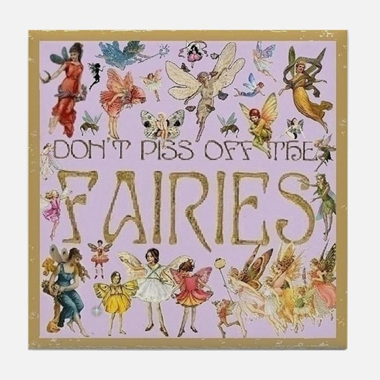 Fairies Tile Coaster