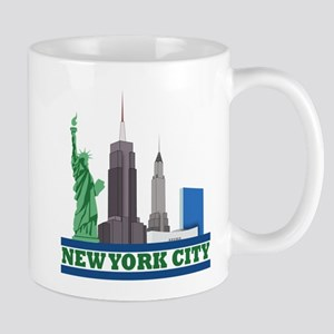 New York City Skyline Mugs
