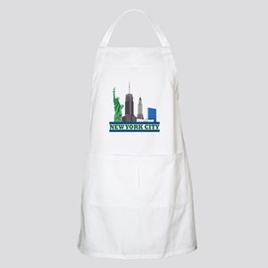 New York City Skyline Apron