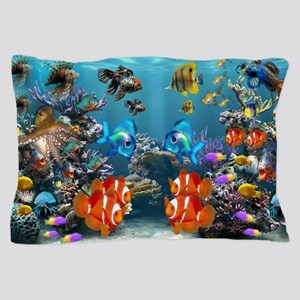 Aquarium Pillow Case