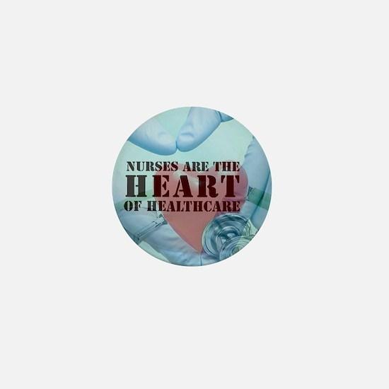 Nurses hearthealthcare Mini Button