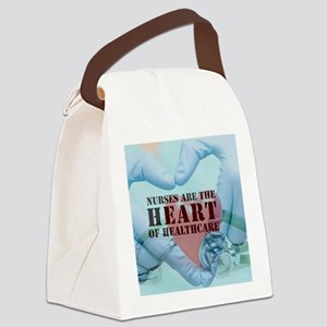 Nurses hearthealthcare Canvas Lunch Bag
