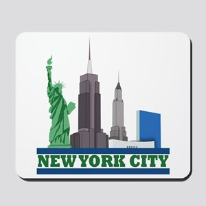 New York City Skyline Mousepad