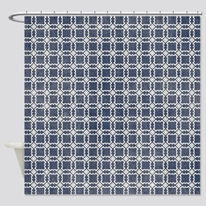 dark blue shower curtain. Navy Blue Shower Curtain Curtains  CafePress