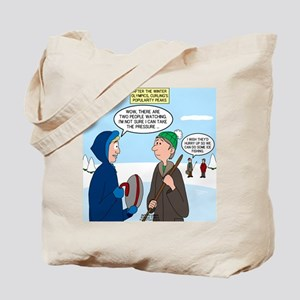 Ice Curling Popularity Tote Bag