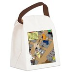 Teachers with Trap Doors Canvas Lunch Bag
