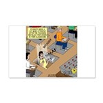 Teachers with Trap Doors 20x12 Wall Decal