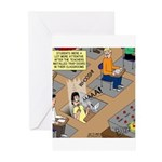 Teachers with Trap Doors Greeting Cards (Pk of 10)