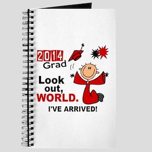 2014 Stick Grad 1.1 Red Journal