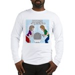 Toilet Seat Lid Dilemma Long Sleeve T-Shirt