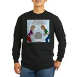 Toilet Seat Lid Dilemma Long Sleeve Dark T-Shirt