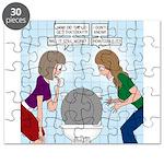Toilet Seat Lid Dilemma Puzzle
