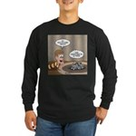 Timmys Question Long Sleeve Dark T-Shirt
