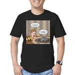 Timmys Question Men's Fitted T-Shirt (dark)