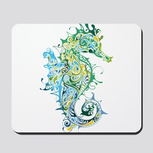 Paisley Seahorse Mousepad