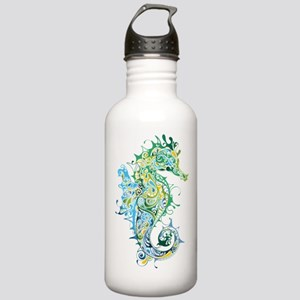 Paisley Seahorse Water Bottle