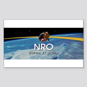 NROL-36 Program Logo Sticker (Rectangle 10 pk)