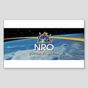 NROL-38 Program Logo Sticker (Rectangle 10 pk)
