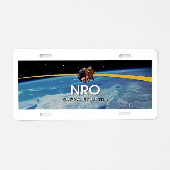 NROL-36 Program Logo Aluminum License Plate