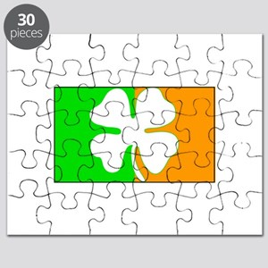 Irish Shamrock Flag Puzzle
