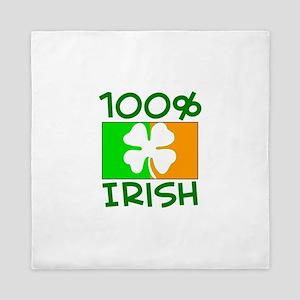 100% IRISH Queen Duvet