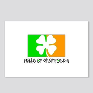 Made Of Shamrocks Postcards (Package of 8)