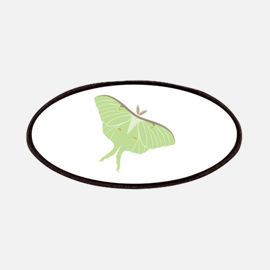 Luna Moth Insect Patches