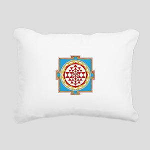Shree Yantra Rectangular Canvas Pillow