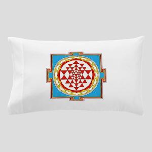 Shree Yantra Pillow Case