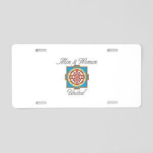Men&Women United Aluminum License Plate
