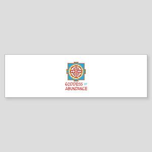 Goddess Of ABUNDANCE Bumper Sticker