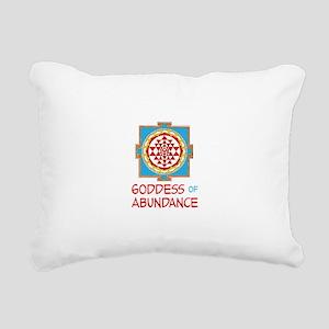 Goddess Of ABUNDANCE Rectangular Canvas Pillow