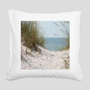 beach-184421 Square Canvas Pillow