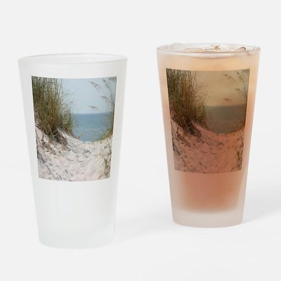 beach-184421 Drinking Glass