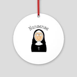 Nunsense Ornament (Round)