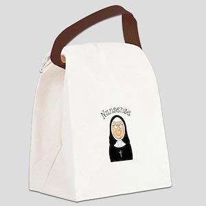 Nunsense Canvas Lunch Bag