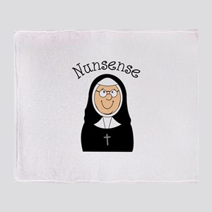 Nunsense Throw Blanket