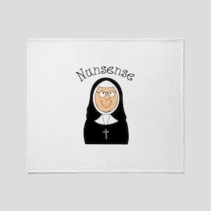 Nunsense Throw Blanket