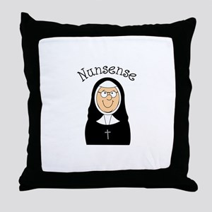 Nunsense Throw Pillow