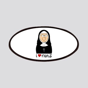 I Love Nuns Patches